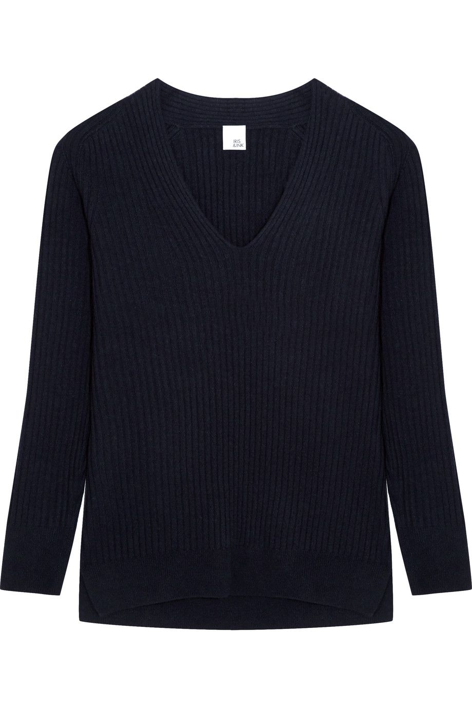 Shop on-sale Iris and Ink Silvia ribbed cashmere sweater. Browse ...