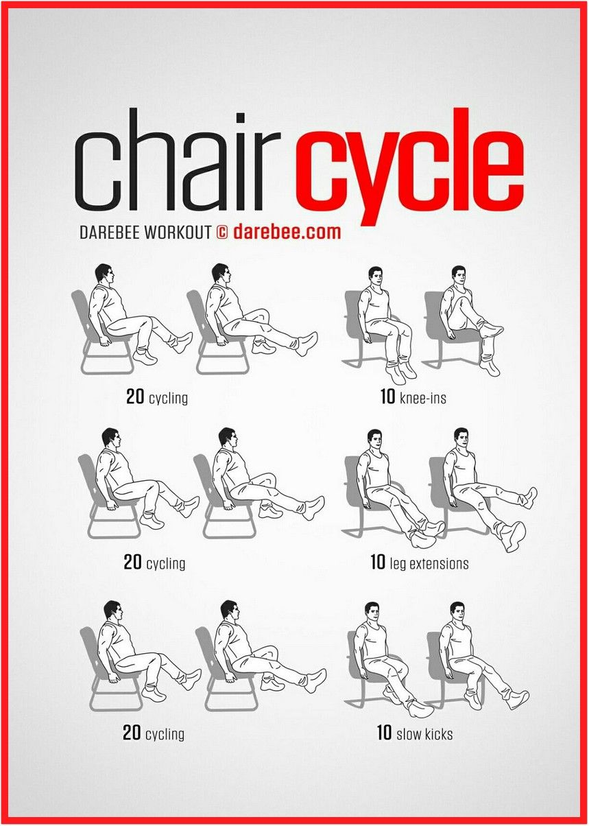 47 reference of chair exercises for legs at work in 2020