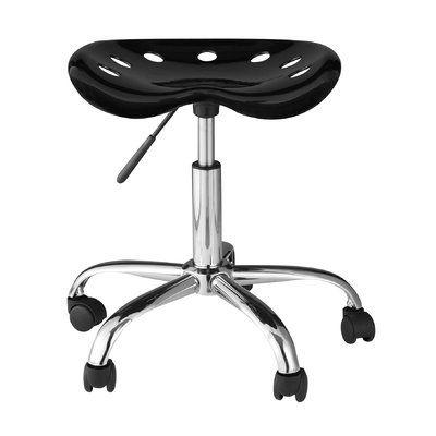 Ebern Designs Girdler Height Adjustable Lab Stool Stool Adjustable Height Desk Adjustable Desk