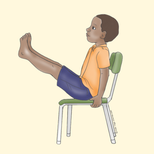 40 kidfriendly chair yoga poses  kids yoga stories