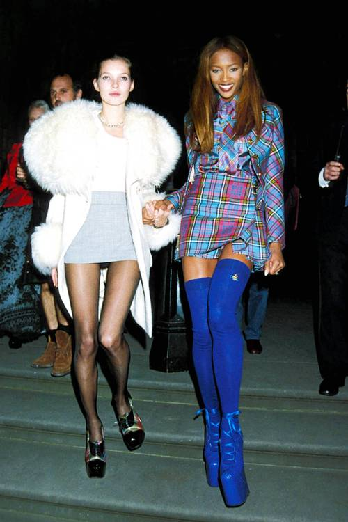 Supermodel Street Style: '90s Edition