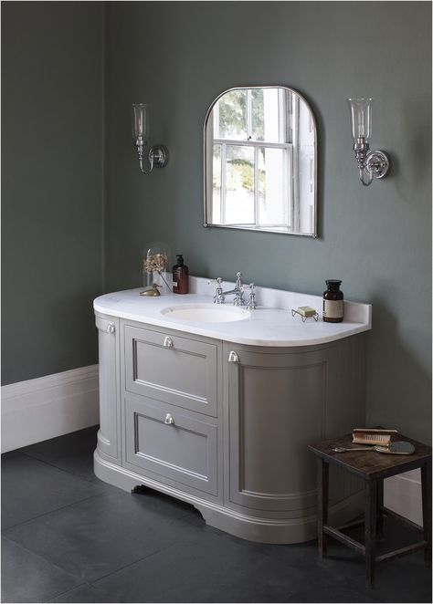 135 Ways To Make Any Bathroom Feel Like An At Home Spa Vanity From Curved Cabinets