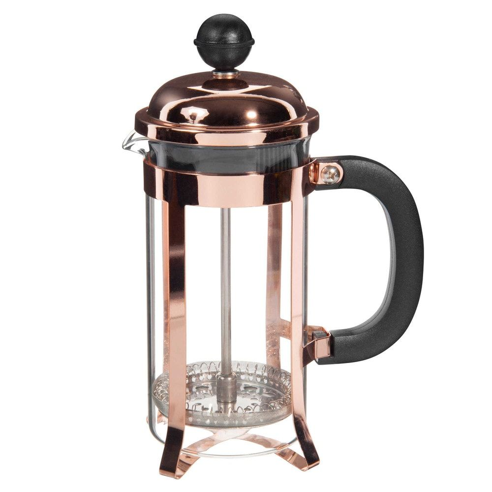 cool copper glass and metal cafetire l with flute a. Black Bedroom Furniture Sets. Home Design Ideas