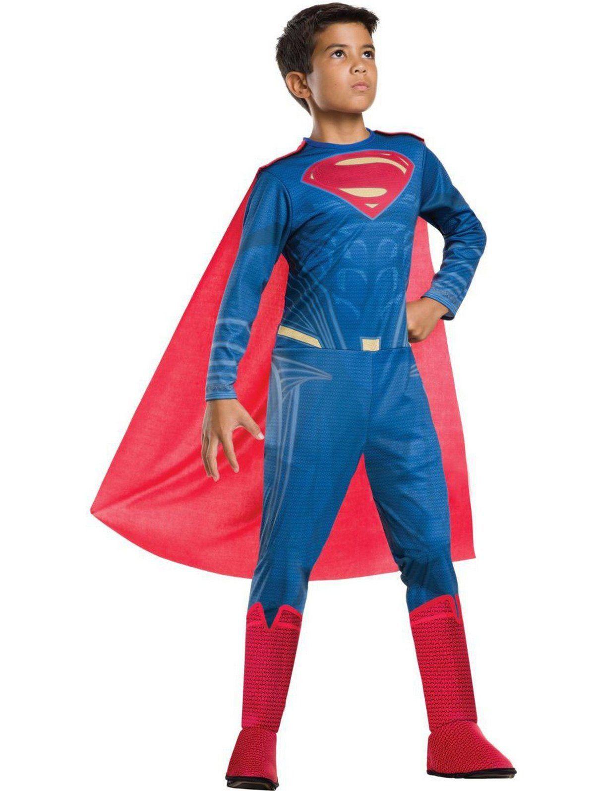 Kids Superman Justice League Child Costume Justice,