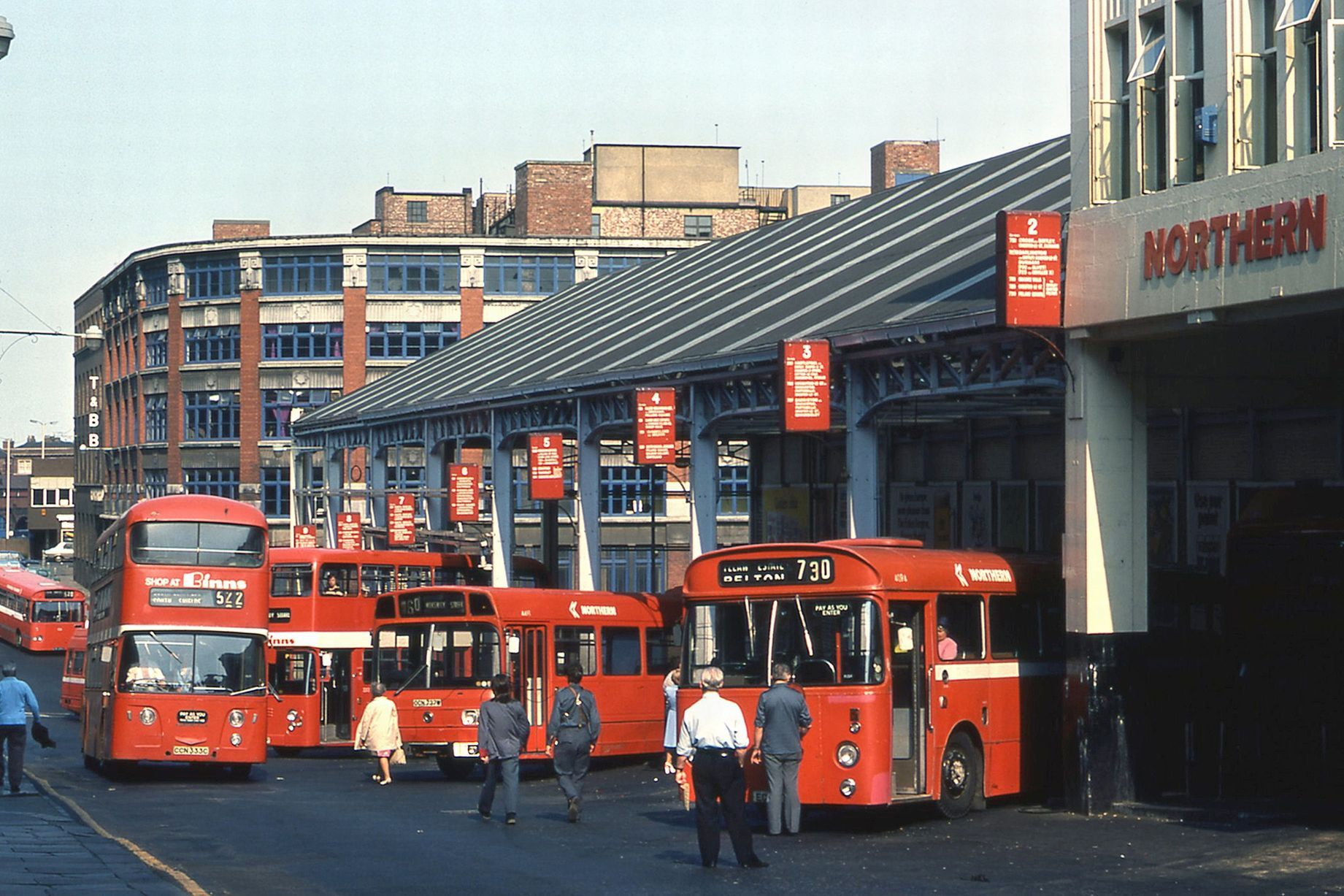 Worswick Street Bus Station In 1976 Although The Structure Still