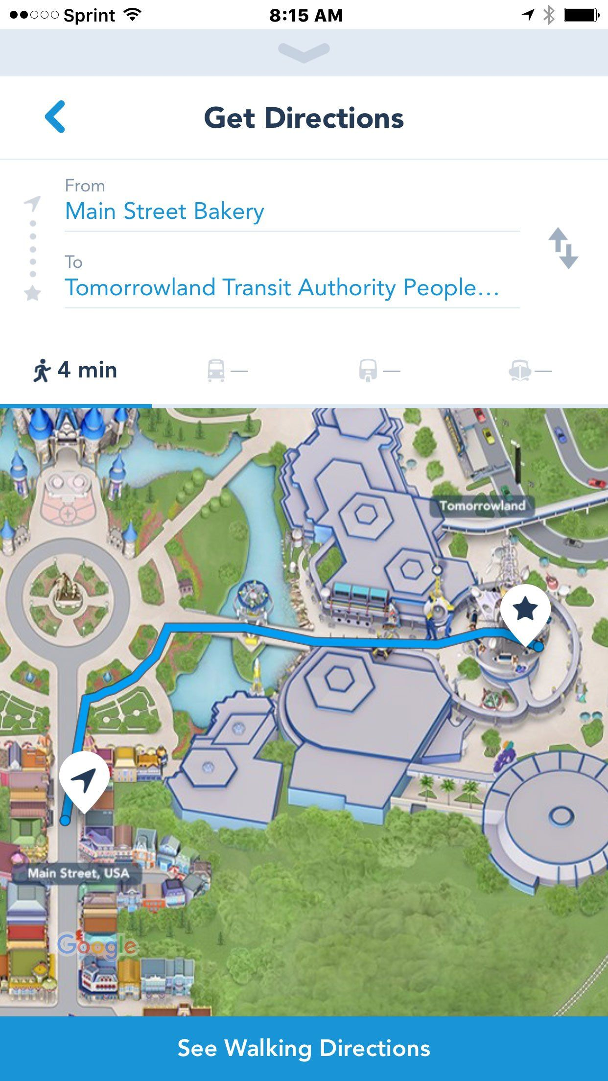 My Disney Experience App Now Gives Directions Disney