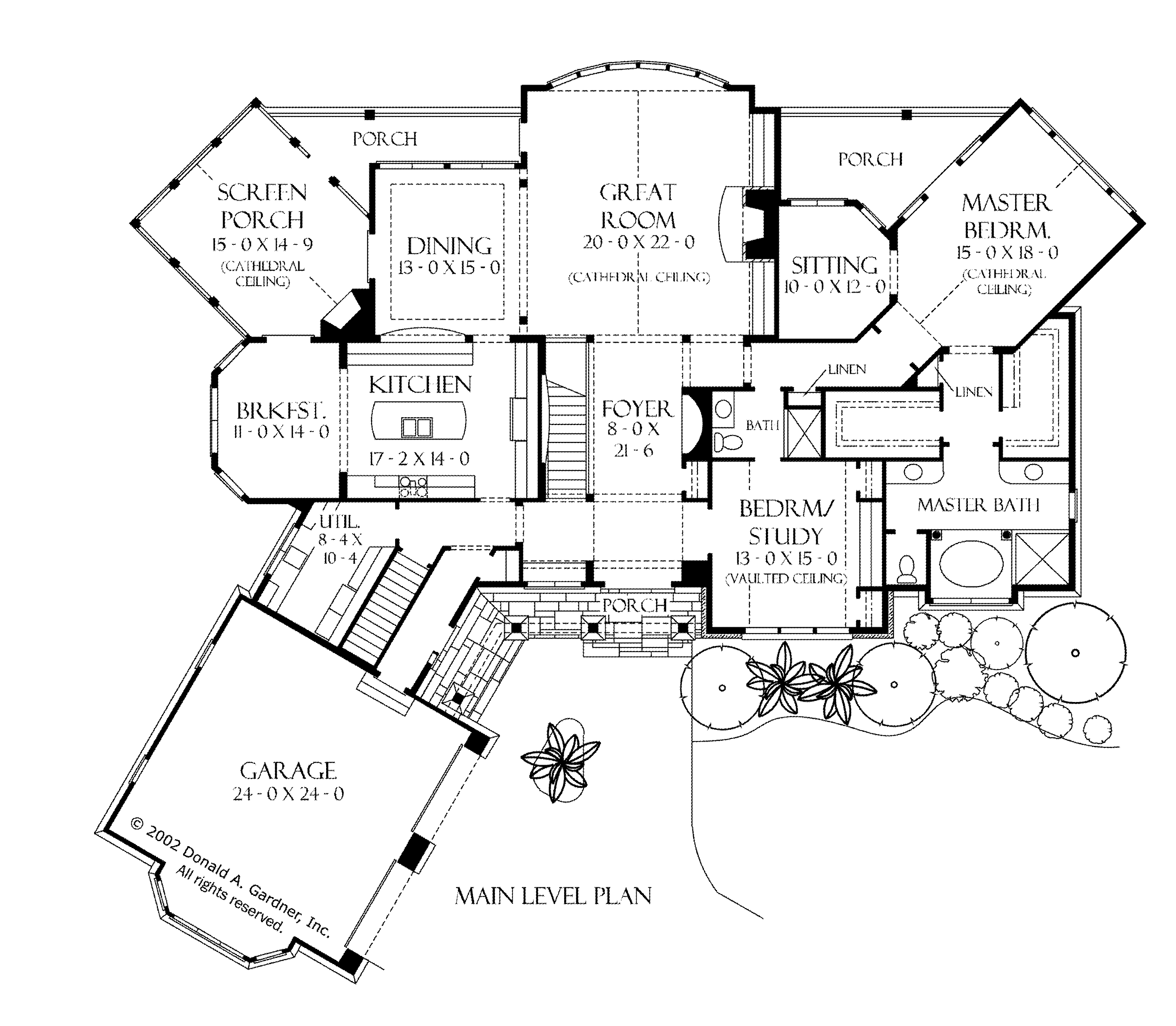 Architecture craftsman style homes floor plans story for Classic cottage house plans