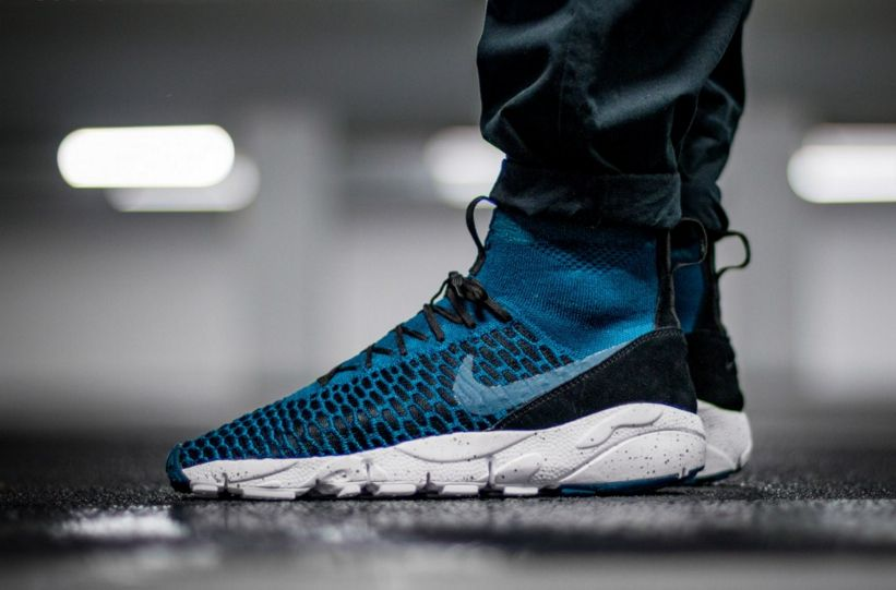 timeless design 94517 466d3 Image result for NIKE AIR FOOTSCAPE MAGISTA FLYKNIT Midnight Turquoise