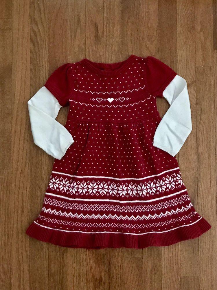 98d20390f66 GYMBOREE Girls Christmas Heart Sweater Dress EUC size 4T  fashion  clothing   shoes  accessories  babytoddlerclothing  girlsclothingnewborn5t (ebay link)
