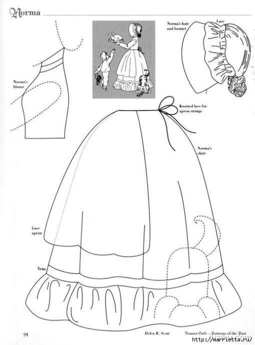 Лоскутное шитье. Журнал Bonnet Girls (33) (510x690, 105Kb ...