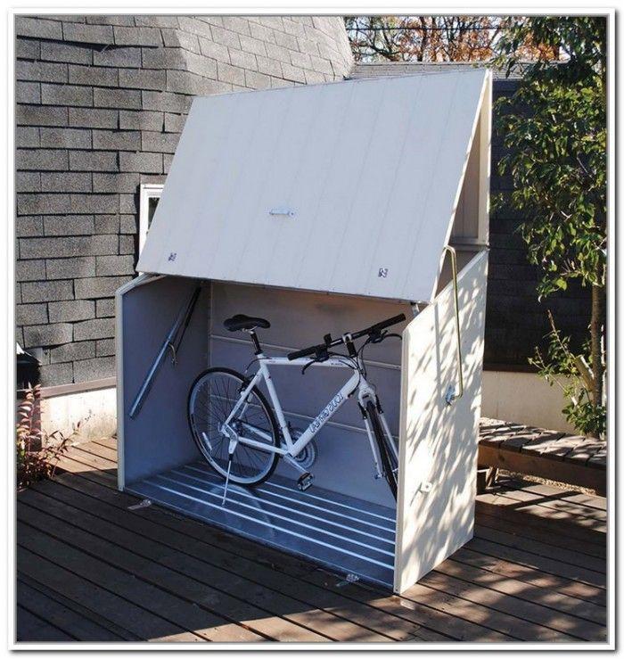 Superb Clever Outdoor Bike Storage