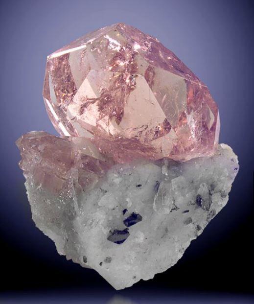 Gems, Minerals, and Crystals | Morganite (Beryl) Gemstones ...
