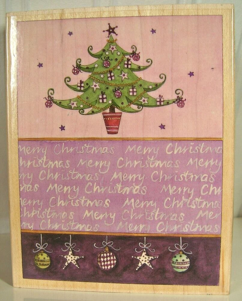 Christmas Stamps 2019.Christmas Stamp Brigette Mcdonald Stamps Happen Tree And