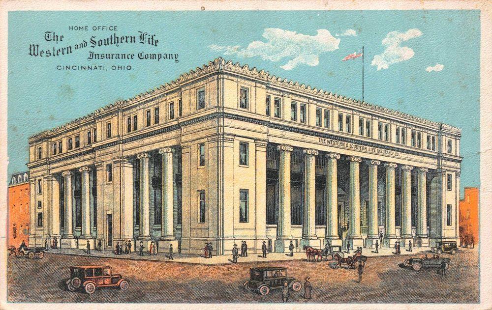 Postcard The Western Southern Life Insurance Company Cincinnati