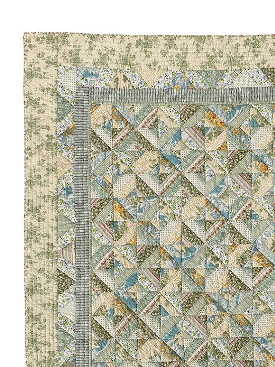 Seaside Floral Quilt: Quilts | Free Shipping at L.L.Bean | quilts ... : llbean quilts - Adamdwight.com
