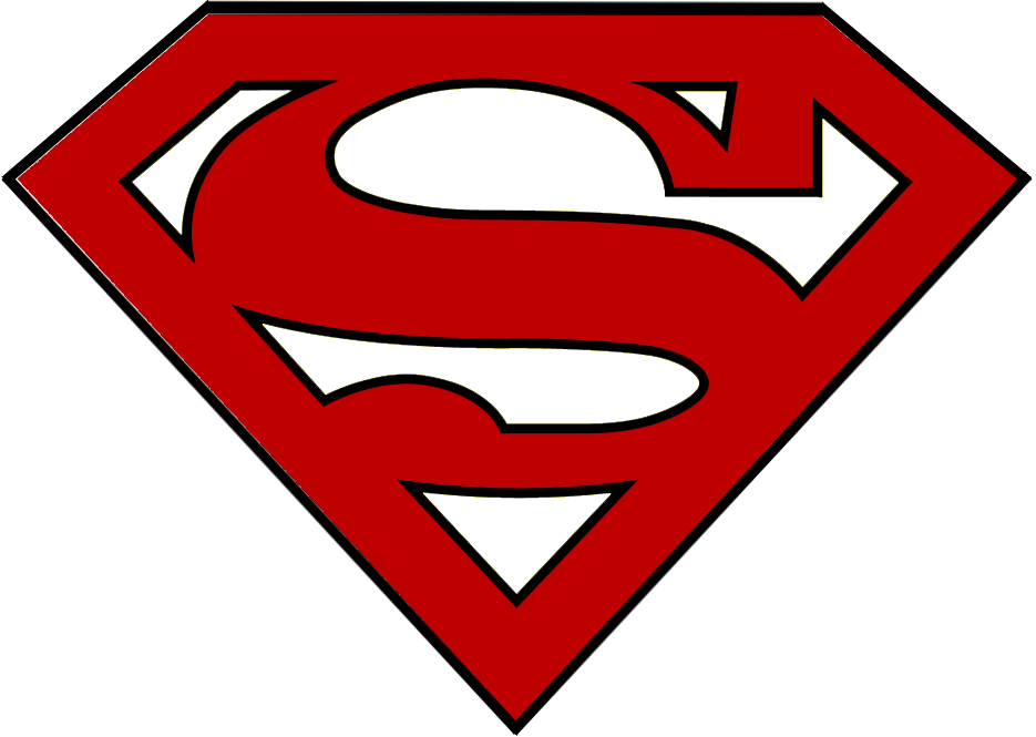 Superman Logo Cake Template - Vector And Clip Art Inspiration •