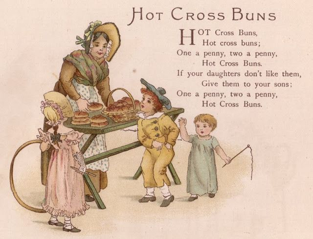"""Here is a recipe for """"Spicy Hot Cross Buns"""" and then my adaptation of the recipe using wholewheat flour. They are a little more dense but very tasty."""
