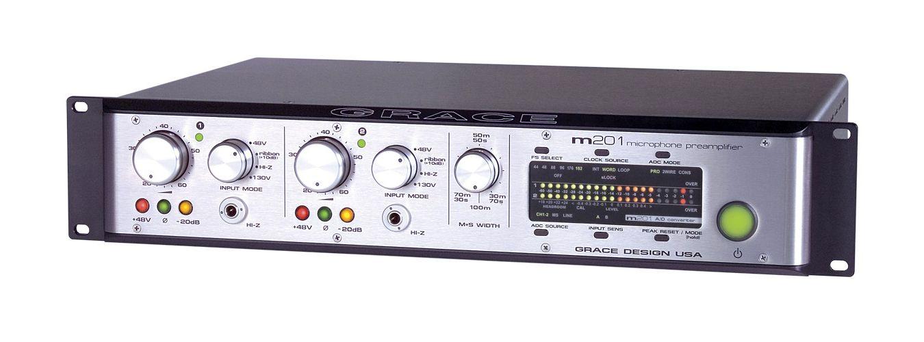 Grace Design M201 Adc Microphone Preamplifer D I
