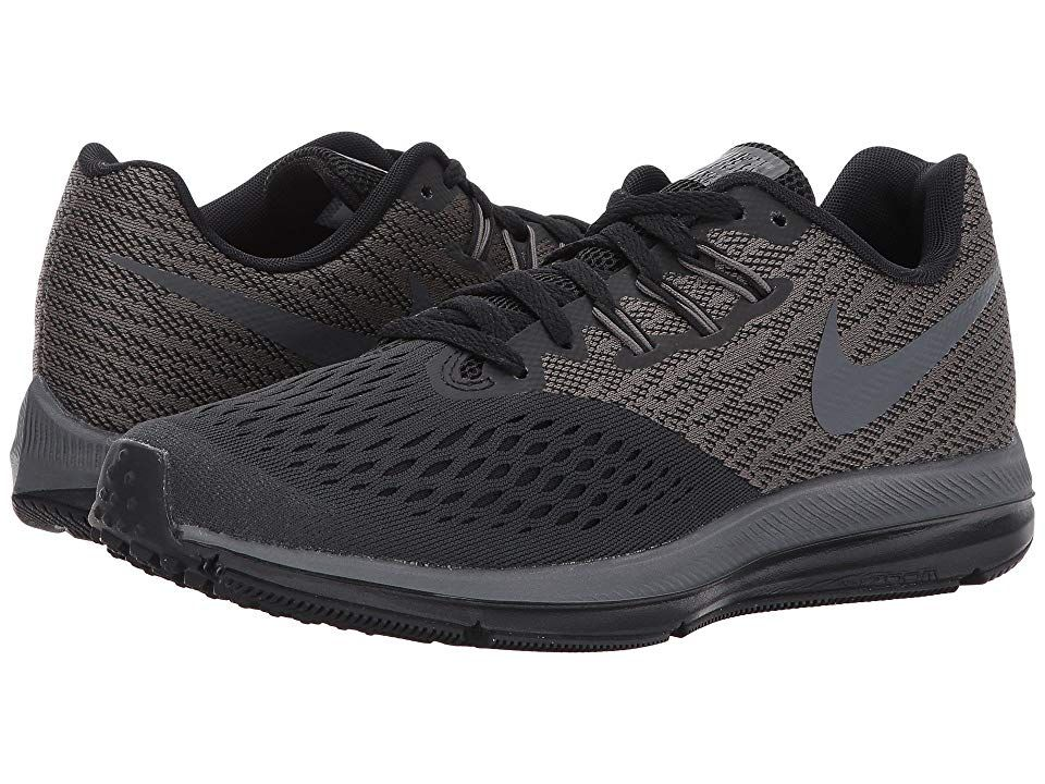 separation shoes 10879 5db27 Nike Air Zoom Winflo 4 Women s Running Shoes Anthracite Dark Grey Black