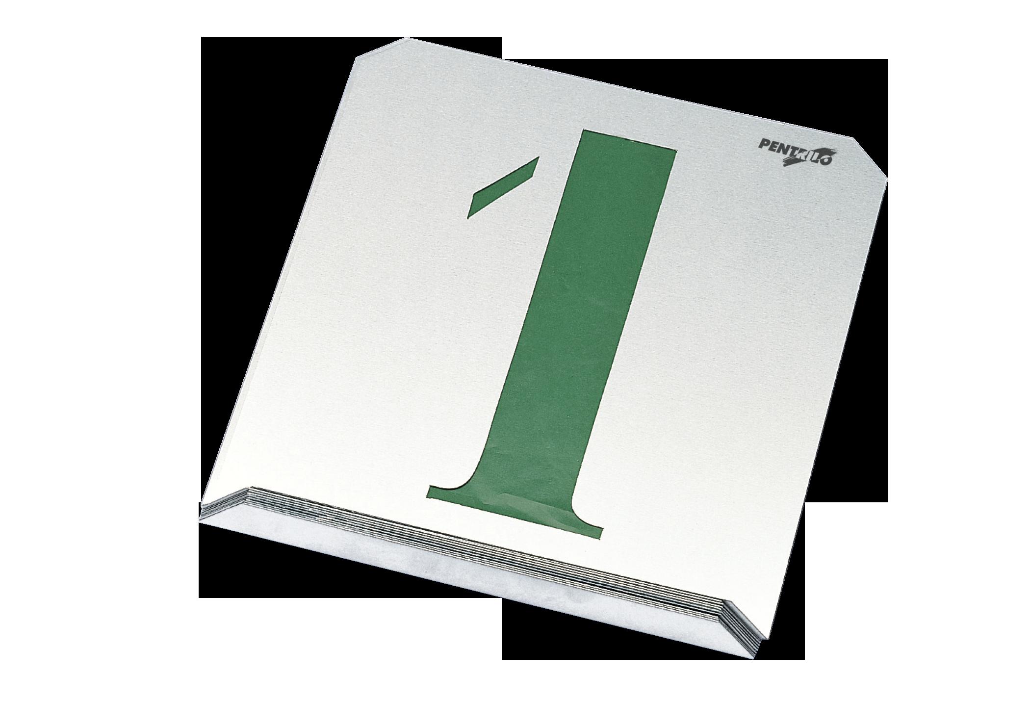 Juego 10 números - Ideal para rotulación / www.pentrilo ...