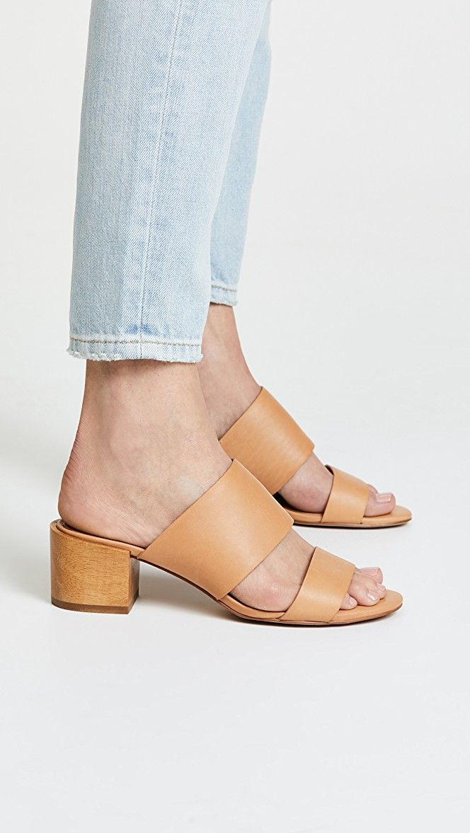 Olivia TwoStrap Mule Sandals currently coveting Mule