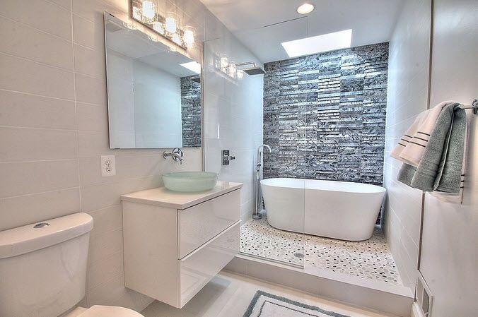 Diseño de cuarto de baño pequeños y medianos | Baños | Baños ...