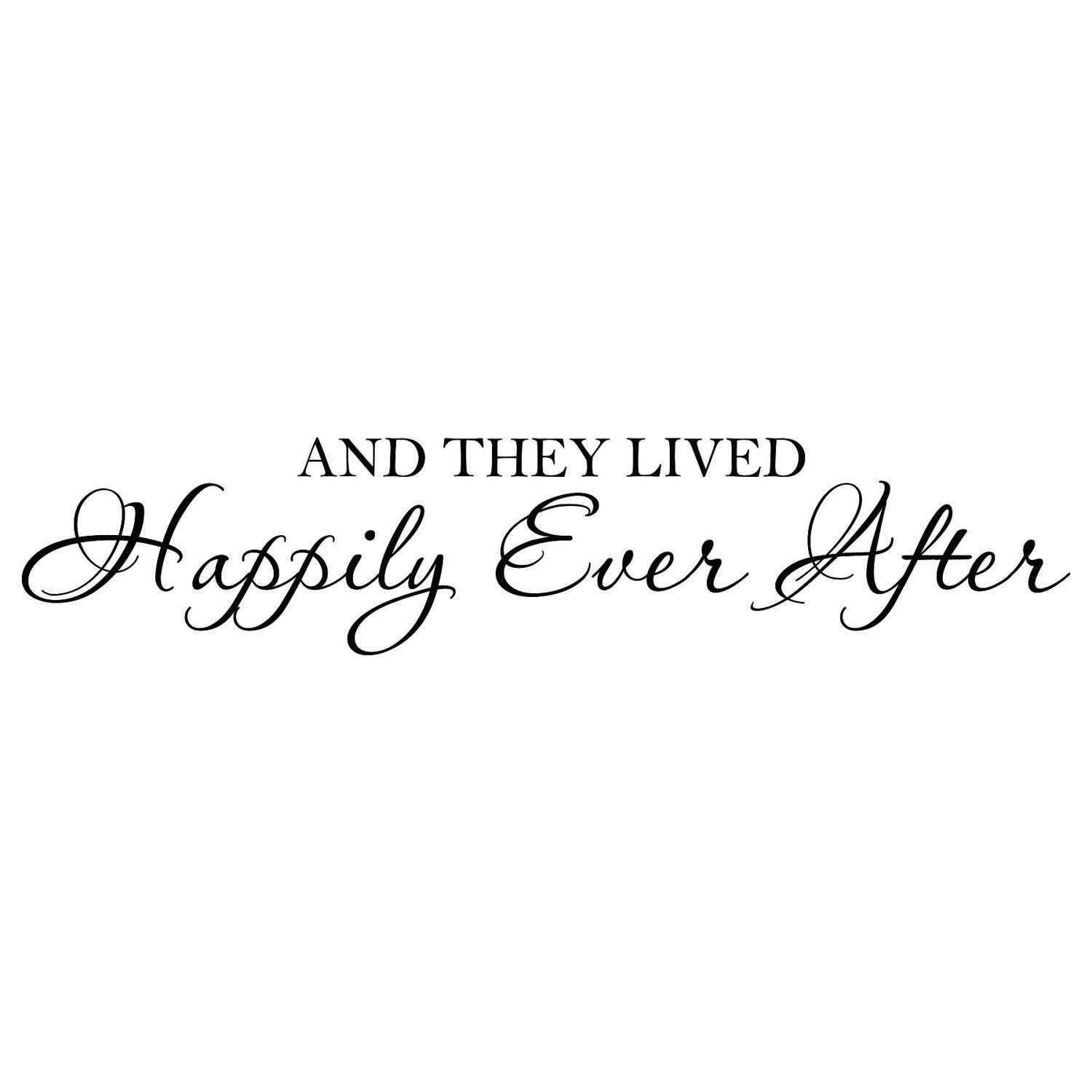 Romantic Bedroom Quotes Romantic Wall Decal Bedroom Quote Vinyl Lettering Decor And They Lived Happily Ever After Wall Art Lo003 Romantic Wall Decals Romantic Bedroom Quotes Happily Ever After Quotes