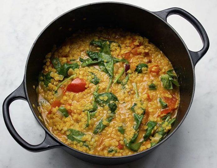 DIY-Anleitung: Veganes Linsen-Curry mit gelben Linsen zubereiten via DaWanda.com