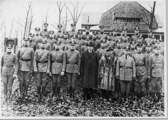 First Maryland State Police Force Saunders Ridge February 10 1921 State Police Police State Trooper