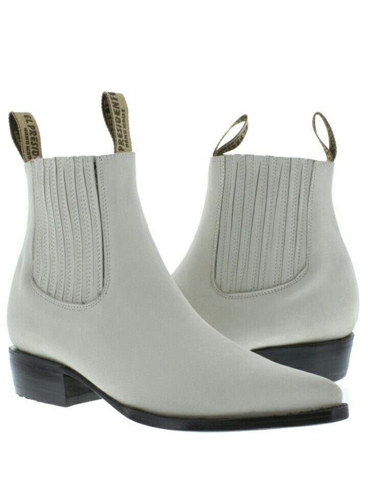 31f8991f88bb32 White color.. | Things that are white. | Boots, Mens white boots ...