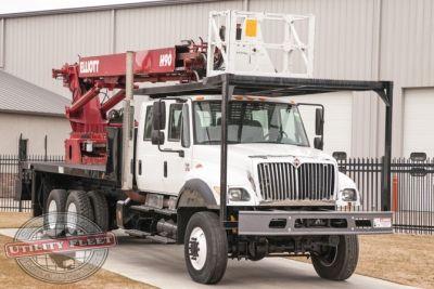 used bucket truck for sale elliott h90r 2003 international 7400 utility fleet sales. Black Bedroom Furniture Sets. Home Design Ideas