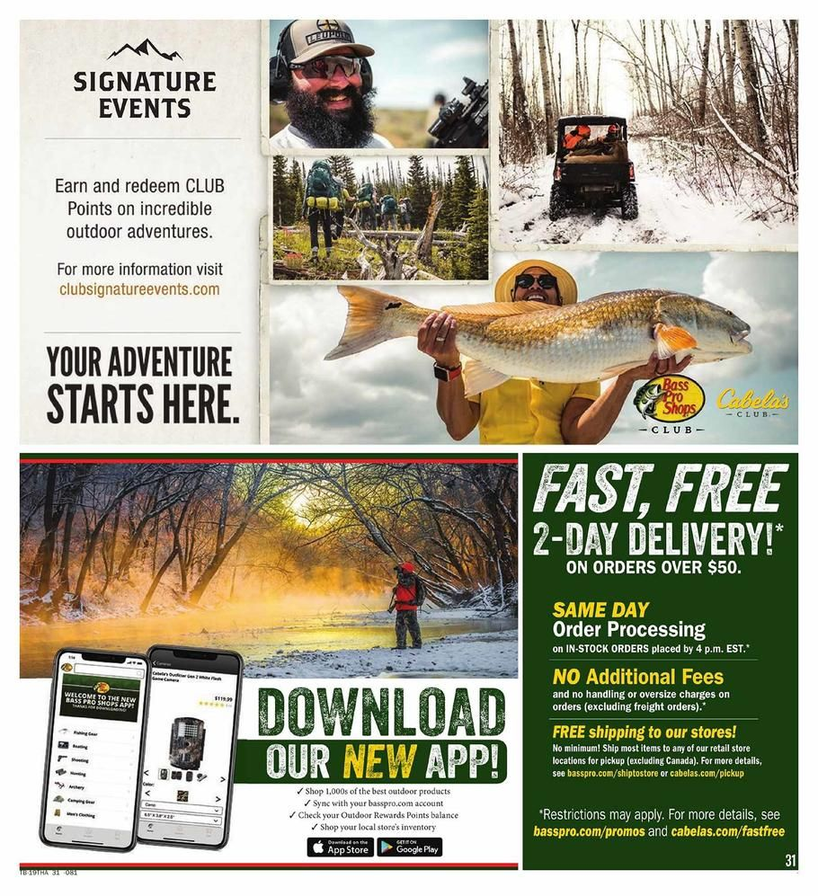 Cabelas And Bass Pro Shops Black Friday Ad Scan Deals And Sales 2019 Cabelas Black Friday Shopping Black Friday Ads