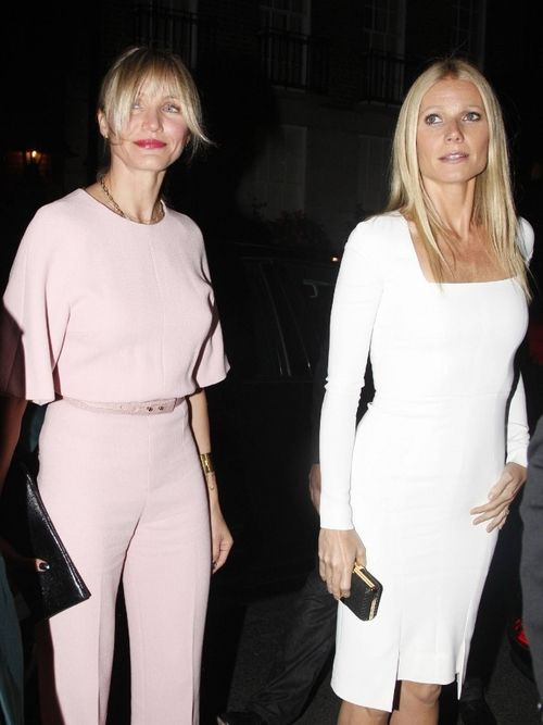 Cameron and Gwyneth step out in style.