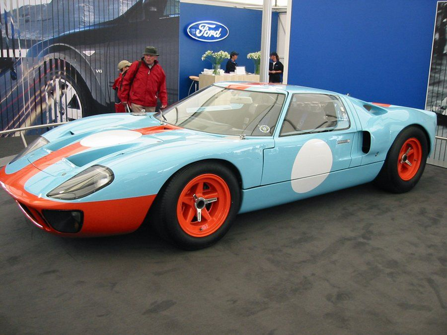 Just For Reference Here S The Legendary Gt40 Of The 1960s Ford Gt Ford Gt40 Car Ford