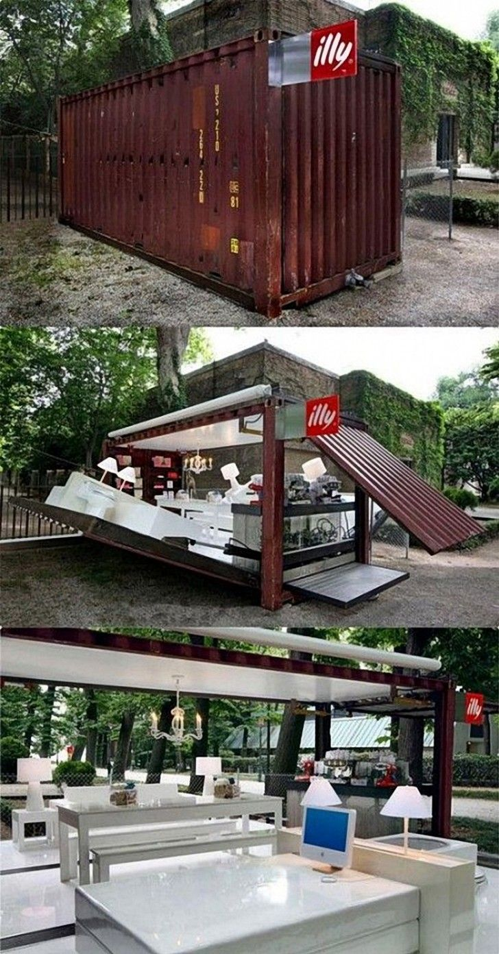 Imbiss Selber Bauen illy jpg imbiss ideen container container häuser