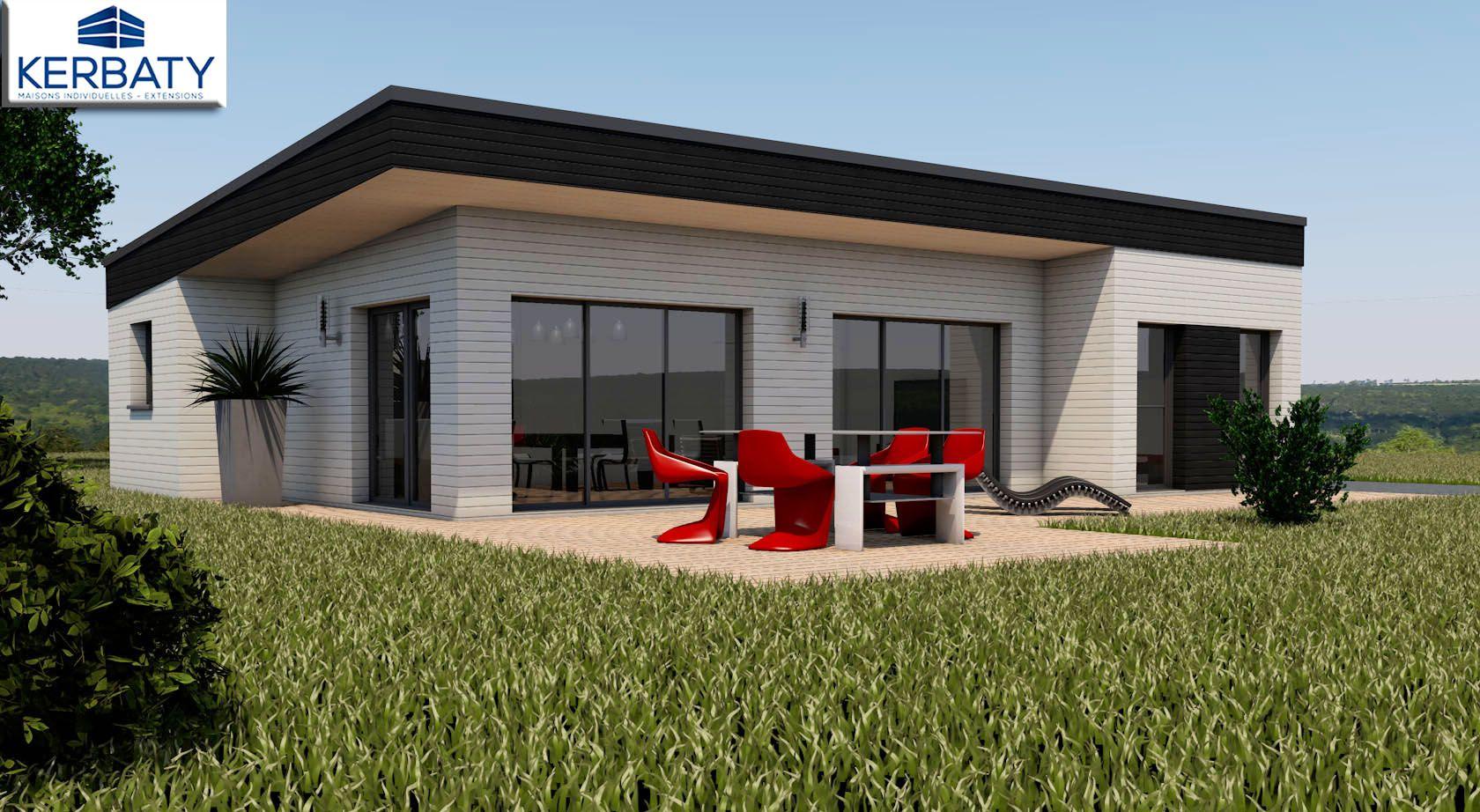 construction maison plain pied bretagne ventana blog. Black Bedroom Furniture Sets. Home Design Ideas
