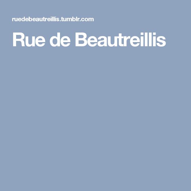 Rue de Beautreillis