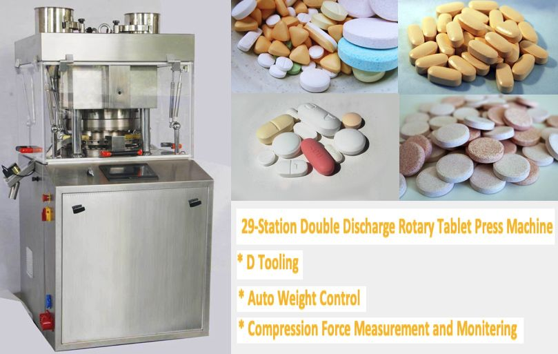 Pill Tablet Press Machine Press Machine Tablet Machine