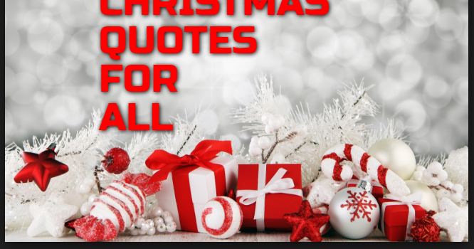 The 45 Best Inspirational Merry Christmas Quotes Of All: Christmas Quotes : Christmas Is The Festival Where People