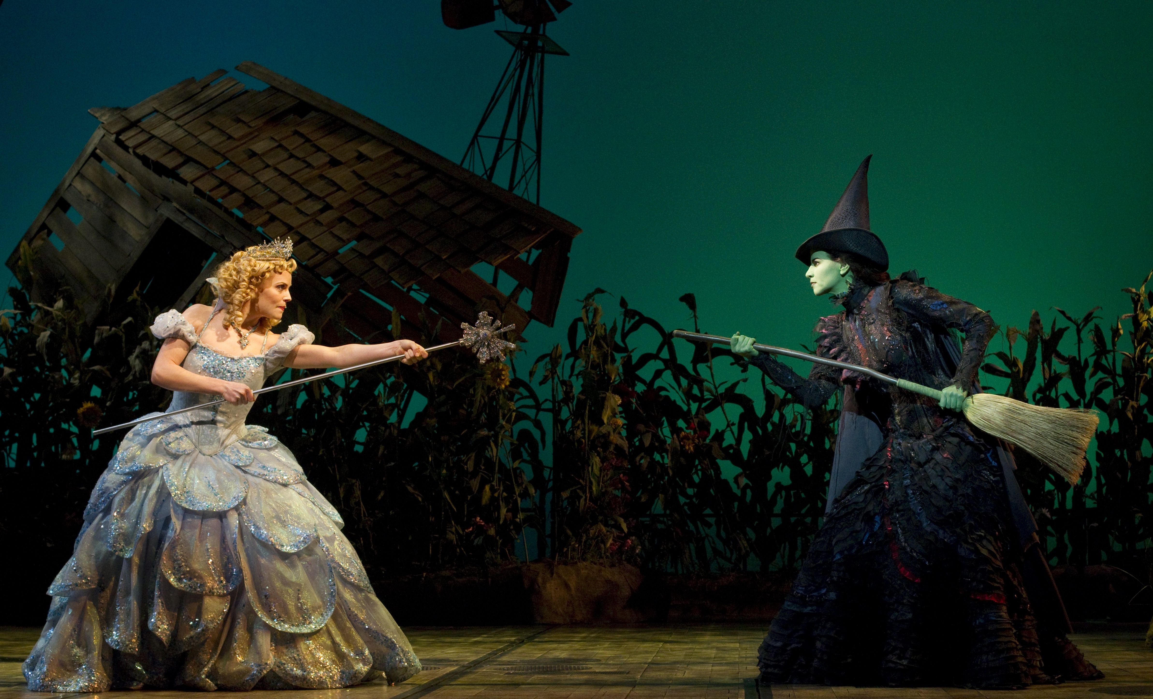 Wicked on Broadway! http://www.newyork60.com/en/broadway-shows/wicked