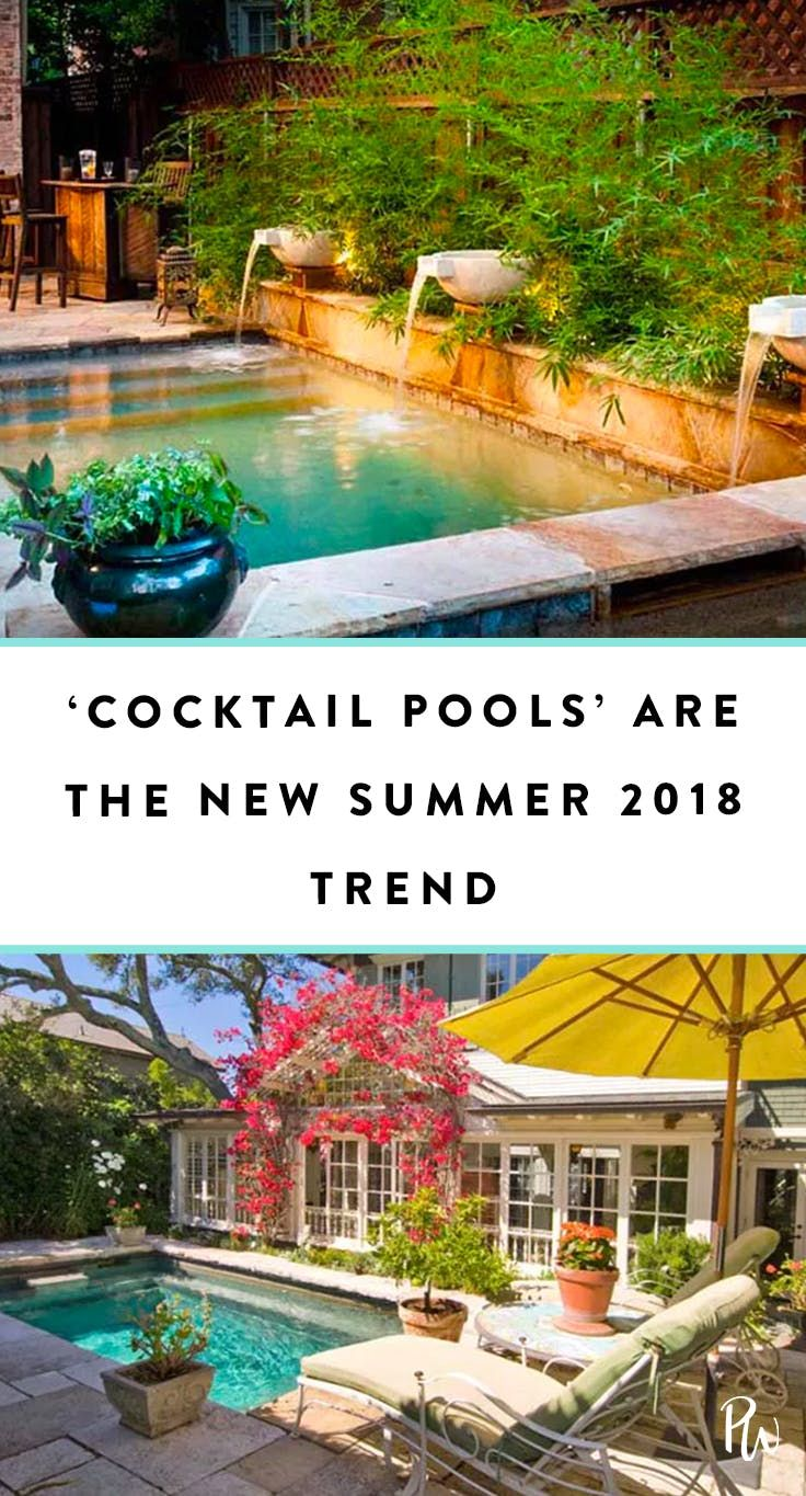 Cocktail Pools Are the Trend Summer 2018 Needed