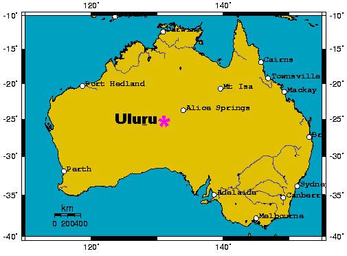 Map Of Australia Showing Uluru.Ayers Rock Map Google Search Sacred Sites Alice Springs Lisa