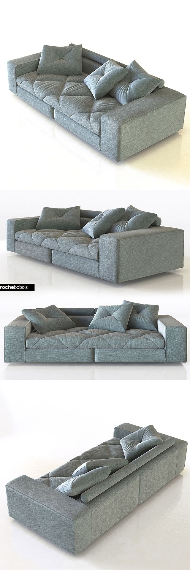 3d Models Sofa Roche Bobois Discours Sofa Bed With Chaise Comfy Sofa Bed Sofa Bed