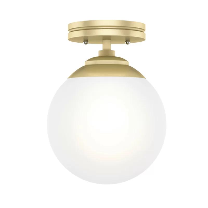 Hepburn 1 Light 7 9 Flush Mount In 2020 Recessed Lighting Kits Led Can Lights Light