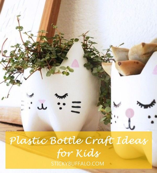 Plastic Bottle Craft Ideas For Kids Part - 31: 15+ Awesome DIY Plastic Bottles Crafts