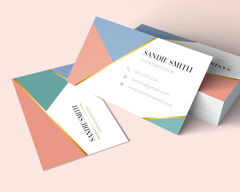 Create A Modern Logo And Business Card Design For Contemporary Fashion Brand Tela Levan Business Card Design Business Card Logo Design Business Cards Creative