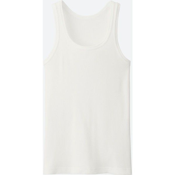 d5f04c684356b4 UNIQLO Men s Packaged Dry Color Rib Tank Top ( 5.90) ❤ liked on Polyvore  featuring
