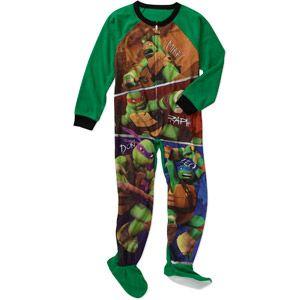 Teenage Mutant Ninja Turtles Boys' Footed Onesie Blanket Sleeper