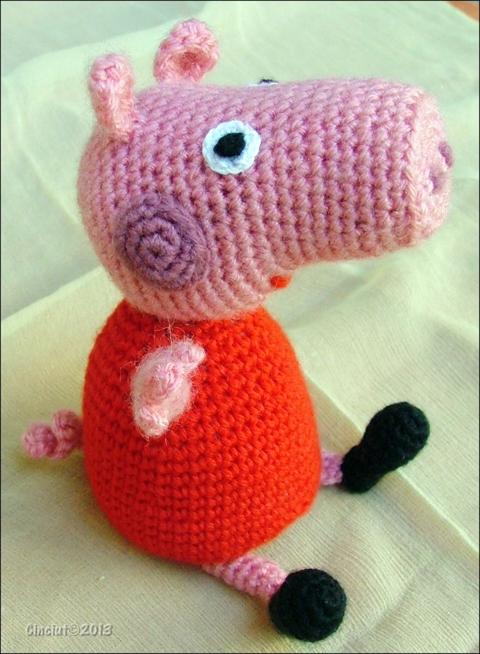 Peppa Pig Amigurumi by Cinciut.deviantart.com on @deviantART ...