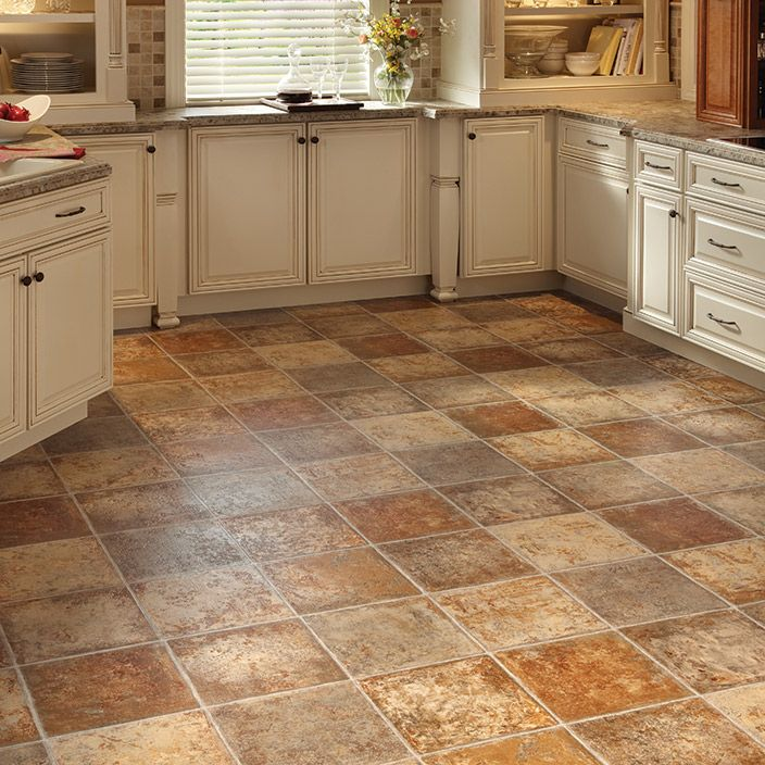 Types Of Kitchen Flooring Ideas: Sensible, Carefree Floor